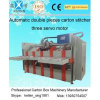 Quality 0 - 60 Pieces / Min Two Pieces Carton Stapler Fit for Small / Medium Size Carton for sale