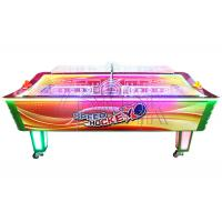 Quality EPARK Air Hockey Profession Supplier Patent Curved Table Air Hockey Coin Operated Game Machine for sale
