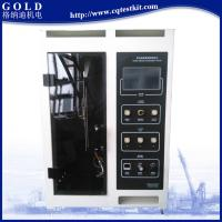China ASTM D6413 Standard Professional Fabric Vertical Flammability Tester on sale