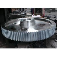 Quality CNC Machining Spiral Gear Helical Machining Internal Skewed Tooth Double Hypoid Gear for sale