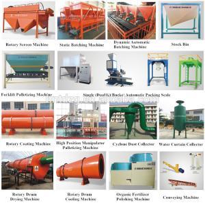 Quality Composting biological kitchen waste fertilizer machine for fertilizer product line on sale for sale