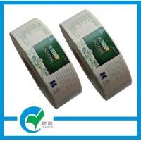 Quality Die Cut Paper Health Foods Transparent Film Polyester Silver Durable Custom Roll Labels for sale
