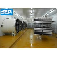 China 250KGS Per Batch Freeze Dry Machine , Fruit And Vegetable Freeze Dryer Lyophilizer on sale