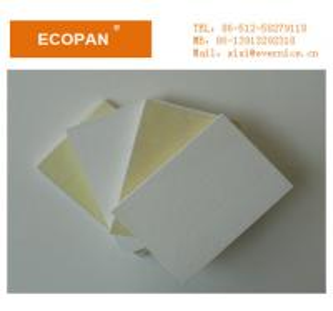 China White Decorative Fiberglass Acoustical Ceiling Panels , Sound Deadening Panels on sale