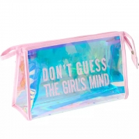 China Waterproof Custom PVC HoloGraphic Makeup Bag on sale