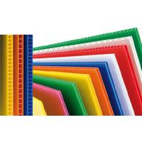Quality Custom Reusable PP Plastic Corrugated Plastic Sheets For Packing Box / Billboard for sale