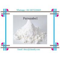 Quality Intermediates & Fine Chemicals White Needle Crystal / Weight Loss Powder Furazabol CAS 1239-29-8 for sale