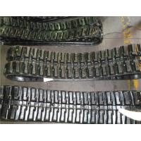 Lightweight Mini Excavator Rubber Tracks 180mm Width With High Tractive Force