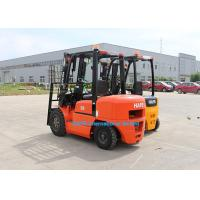 Quality OEM 3.5T Warehouse Forklift FD35 , Diesel Operated Forklift 2 Stage 4m Mast for sale