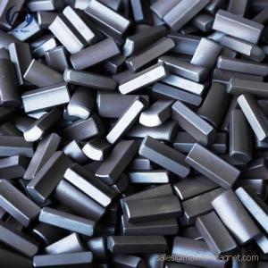 Quality Servo motors magnets without coating of neodymium-iron-boron material for sale