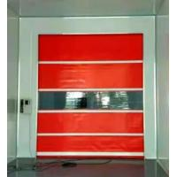 Quality Industry Pvc Roll Up Rapid Rise Door Color Coated Galvanized Steel Material for sale