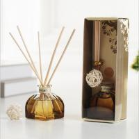 Quality Decorative Home Reed Diffuser Natural Essential Oil Aroma Glass Bottle Reed Diffuser for sale