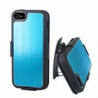 Quality Aluminum Case for iPhone 5, with Clip, Various Colors are Available for sale
