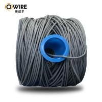 Quality 24 Awg Bulk CAT5E Ethernet Cable PVC Jacket Solid Bare Copper 305m/ Reelex Box for sale