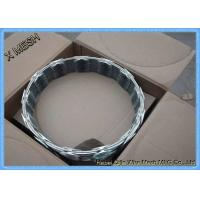 Buy cheap Heavy Duty Galvanized Barbed Concertina Barbed Tape Razor Wire from wholesalers