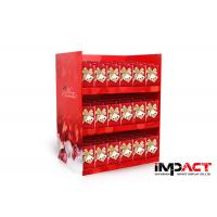 Professional Carton Cardboard Shelving Displays , Retail Display Stands