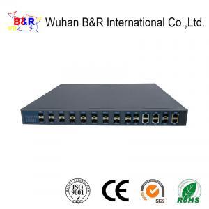 Quality 140Gbps SFP+ Uplink FTTH 16 Port GPON OLT for sale