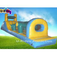 Quality Amusement Giant Kids Inflatable Water Toys With Slide 14M X 1.6M X 1.5M for sale