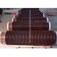 Quality 132KV Oil Type Transformers Hollow Core Insulator Without Flange 4700mm Creepage Distance for sale