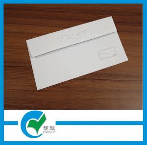 Quality White Printed Custom Envelope Printing - Mailer Window Saliva Glue Envelope for sale