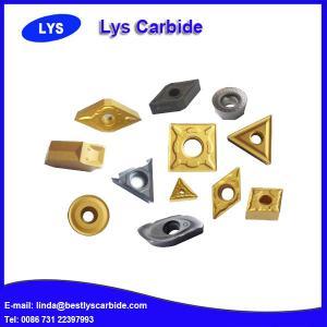 Quality High precision tungsten carbide inserts CCMT120408, CCMT120412 for sale