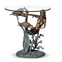 Quality Mermaid stand coffee table/Tea Table for home decoration for sale