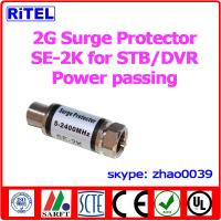 Quality STB Surge protector SE-2K 5-2500MHz Power pass and DC block available for sale