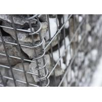 Quality Hot Dipped Galvanized Retaining Wall Gabion Cages Corrosion Resistance for sale