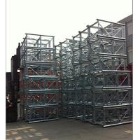 Buy Twin Cage Lifting Construction Hoist Parts With counterweight at wholesale prices