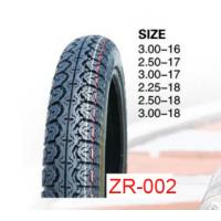 China 2015 high quality motorcycle tyre 3.00-16 , 3.00-18 6PR 35%-45% rubber content on sale