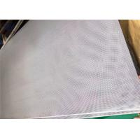 Quality Punching Wire Mesh With Small Round Hole For Screening / Perforated Metal for sale