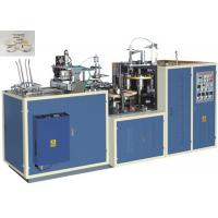 Quality Efficient Green Laminated Paper Bowl Forming Machine , Paper Bowl Machine for sale
