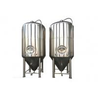 Quality Fermentation Storage Conical Beer Fermenter Fermenting Equipment ISO , CE for sale