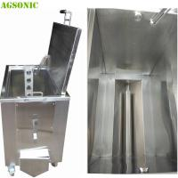 Quality Double Walled Insulated Stainless Steel Soak Tank Trolly Heated Ultrasonic 2KW for sale