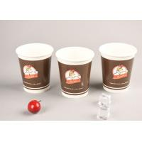 Quality Eco Friendly 16oz Cold Paper Cups Iced Recyclable Coffee Cups For Shop / Office for sale