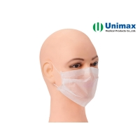 Quality Pleated Hygienic Paper Face Mask for sale