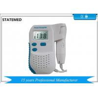 China Baby Heart Doppler Portable Ultrasound Scanner For Hospital And Home on sale