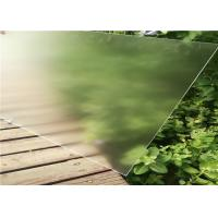 Quality Pre - Stressed Clear Tempered Glass , Ultra White  Flat Solar Glass Heat Resistant for sale
