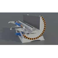 Buy cheap SANKON Stationary Tilting AAC Machine Overturn Table from wholesalers