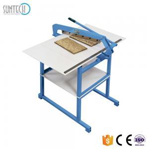 China SUNTECH Hand Type Textile Cutting Machine Fabric Swatch Cutter Fabric Cutting Table  whatsapp:+8615167191274 on sale