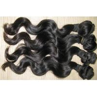 Buy Hair Products Peruvian Virgin Hair Body Wave 4 Bundle Hair Unprocessed Human Hair Weave at wholesale prices