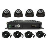 Quality 4 Channel School Bus Surveillance Vehicle Security Camera System 720P MDVR Kits for sale