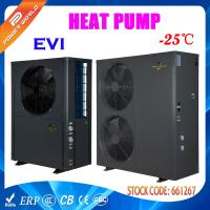Quality Split Type High COP Low Temperature Heat Pump LED Control Panel for sale