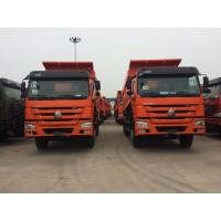 Quality Sinotruk HOWO 336 ZZ3257N3247B 10 Wheels WD615.69 Engine Red Color 30ton Dumper Truck for sale
