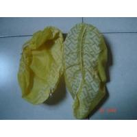 Quality CE ISO Yellow / Blue Shoe Covers Disposable Anti SkidLightweight One Time Use for sale