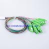 Buy cheap Telecom Networks Fiber PLC Splitter LSZH 1x8 SC APC Connector Low PDL from wholesalers