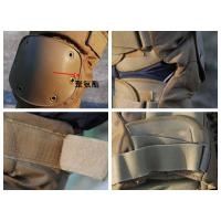 Quality Tactical khaki knee and elbow pads/military pads for sale