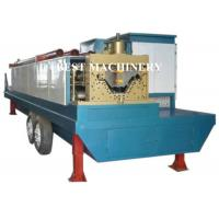 China Trailer Mounted ABM K Span Roll Forming Machine Curving Roof 8m/min - 12m/min on sale