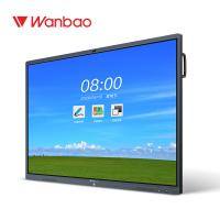 China 75 86 100 Interactive Display Panel All In One Conference Remote Meeting Use on sale