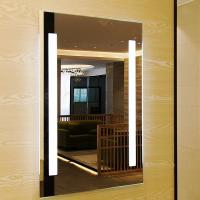 Quality Smart Touch Sensor Switch Led Bathroom Wall Mirror Fogless Shower Mirror for sale